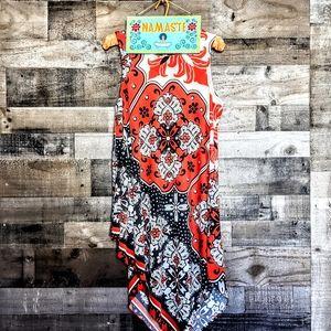 Prelude Asymmetrical Swing Dress EUC